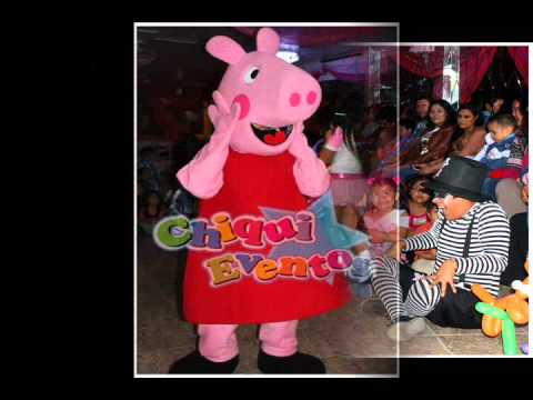 SHOW DE PEPPA PIG Y GIORGE - YouTube