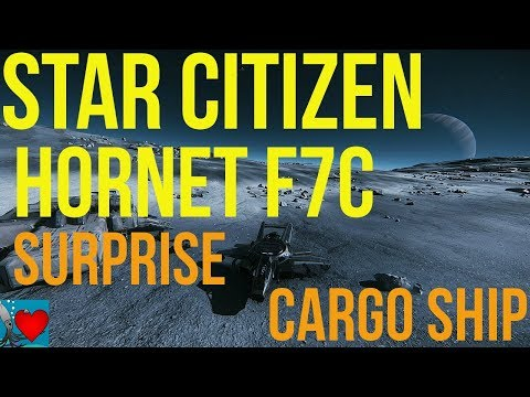Star Citizen Hornet - Surprise Cargo Ship