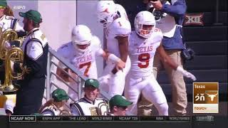 Texas vs Baylor Football Highlights