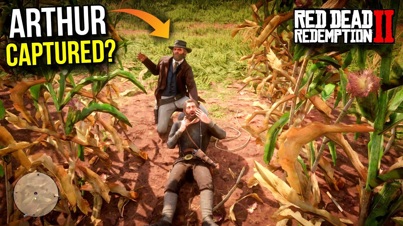 HE TRIED TO KILL ARTHUR!   RED DEAD REDEMPTION 2 GAMEPLAY