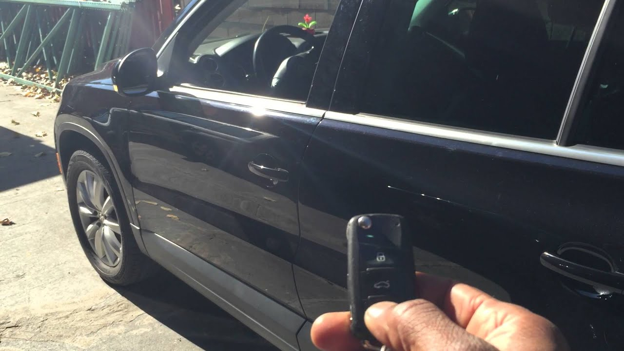 2011 VW TIGUAN REMOTE START WITH FACTORY REMOTE - YouTube