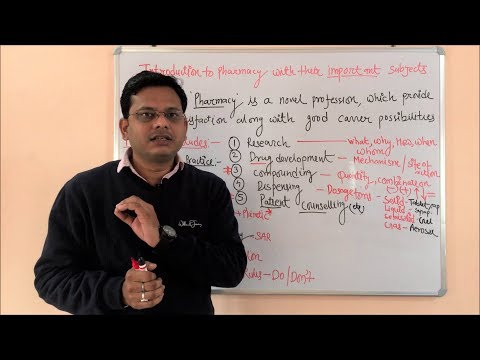 Scope and Career in Pharmacy = Diploma in Pharmacy and Degree in Pharmacy (HINDI)