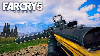 Far Cry 5 - BRAND NEW MP34 SUBMACHINE GUN DLC (Far Cry 5 Free Roam) #50