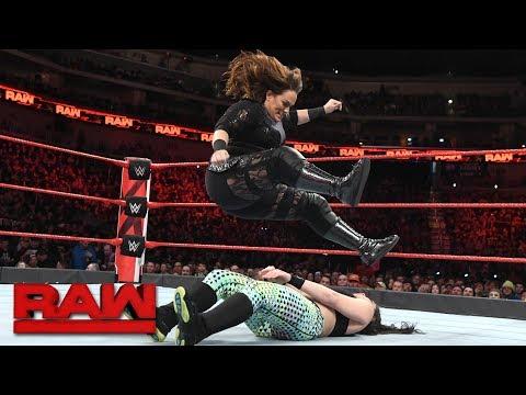Nia Jax vs. Vanessa Floyd: Raw, Feb. 5, 2018