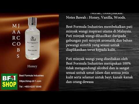 Pati Minyak Wangi Marc Jacobs Honey