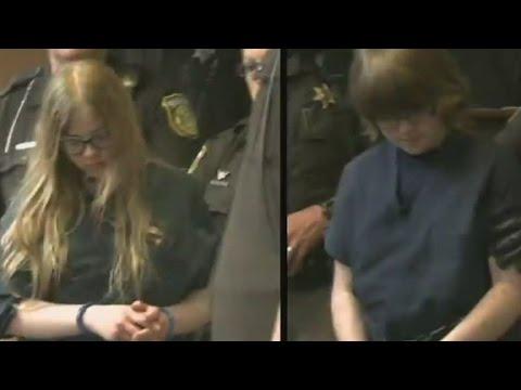 Chilling 'Slenderman' interrogation