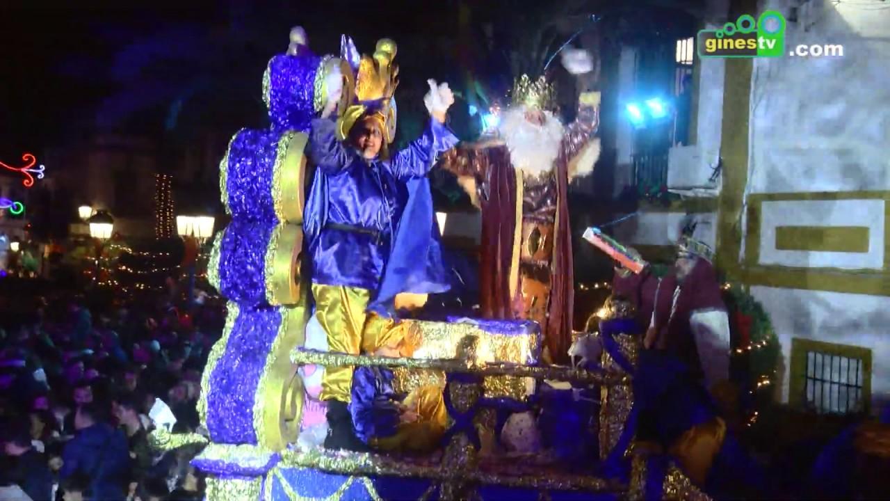 La Cabalgata de Reyes inundará de ilusión y fantasía las calles de Gines este sábado