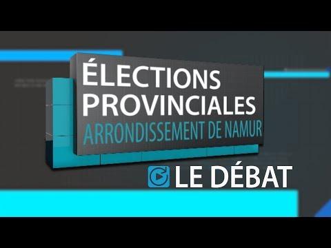 Provinciales 2018  - Arrondissement de Namur