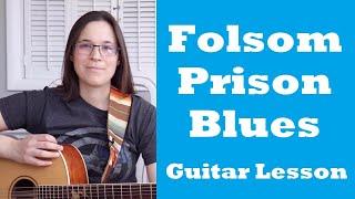 Folsom Prison Blues Guitar Lesson Acoustic