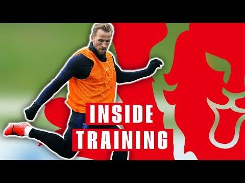 England Show off Sensational Finishing Skills as Squad Prepares For Czech Republic | Inside Training