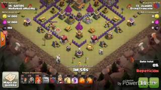 CLASH OF CLANS|GOWIVA|TH8 CON VALKIRIAS NVL 1