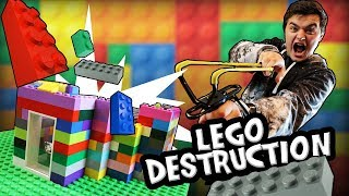 LEGO FORT DEFENSE - Most Secure Lego House Challenge!