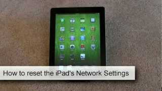 How to reset the iPad
