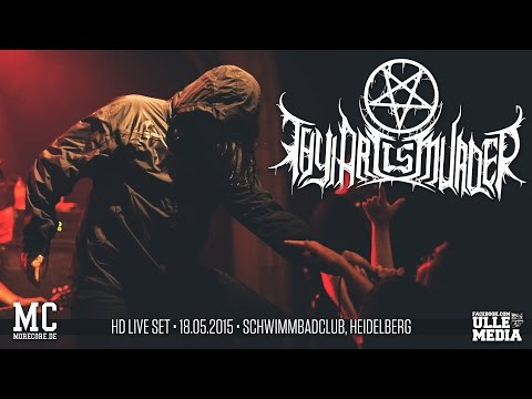 Thy Art Is Murder - FULL HD LIVE SET - Heidelberg, Germany