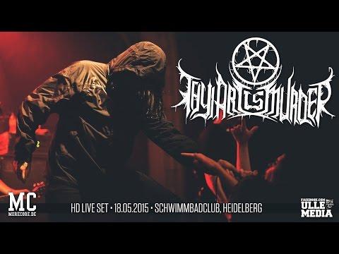 Thy Art Is Murder - FULL HD LIVE SET - Heidelberg, Germany