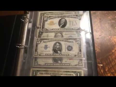 Gold and silver certificates + more!!!
