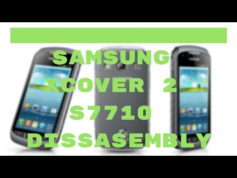 Samsung Xcover 2 S7710 disassembly - CrocFIX