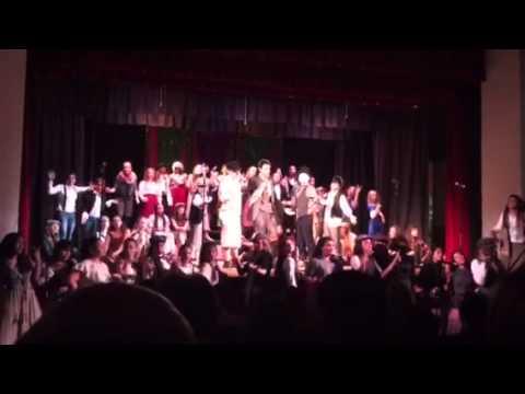 Brea Jr High Show Choir Express - YouTube