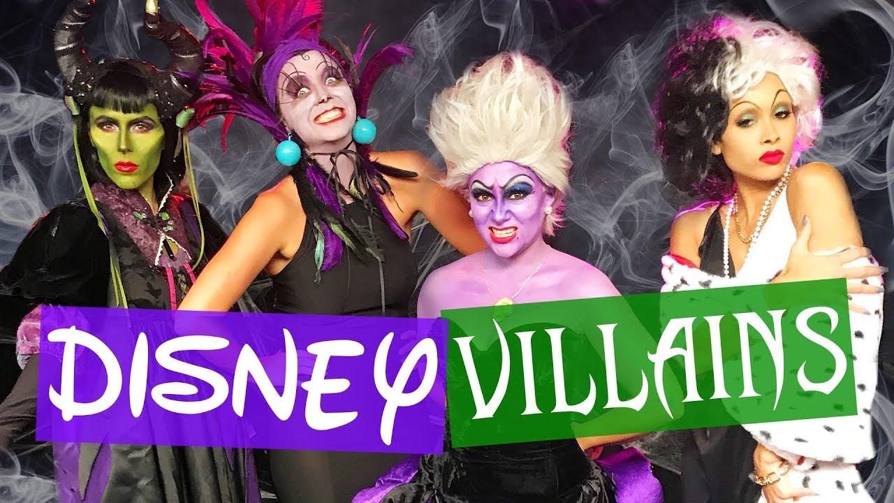 Halloween Disney Villains.We Become Disney Villains Halloween Makeup Transformation Beauty Break