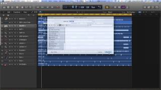 LogicPro X bounce to Mp3