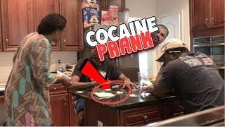 COCAINE PRANK ON AFRICAN MOM !!!!! (EXTREME)