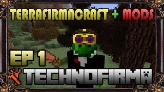 Technofirma EP1: TerraFirmaCraft + Techmods + Decomods + Gráficos