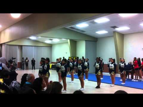 Keys Gate Charter School Cheerleading exposition 2011