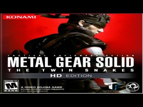 Metal Gear - Solid The Twin Snakes - All Cutscenes/ Full Movie (HD Remastered)