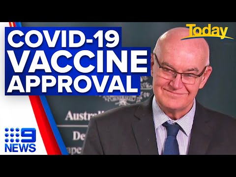 TGA's John Skerritt breaks down Australia's COVID-19 vaccine approval process   9 News Australia