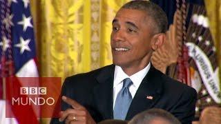 Obama responde a la interrupción de una activista transexual