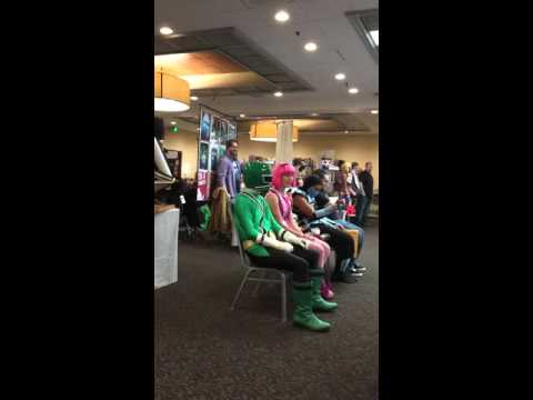 Chloe Lang and Hector David Jr LazyTown meets Power Rangerswill he make it?