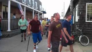 Wounded Warriors Arrive in Ocean Beach