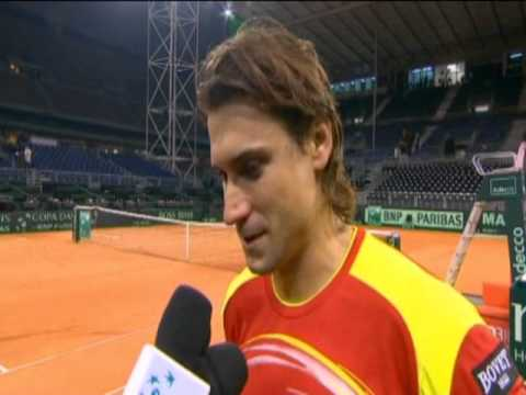 Davis Cup Interview: David Ferrer
