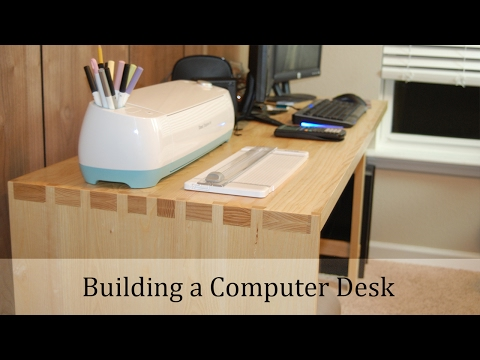 Woodworking Project - Computer Desk