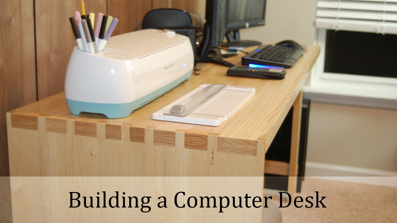Woodworking Project Computer Desk Youtube
