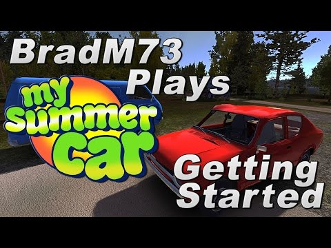 My Summer Car - Episode 1 - How To Get Started + Engine Build Tutorial!