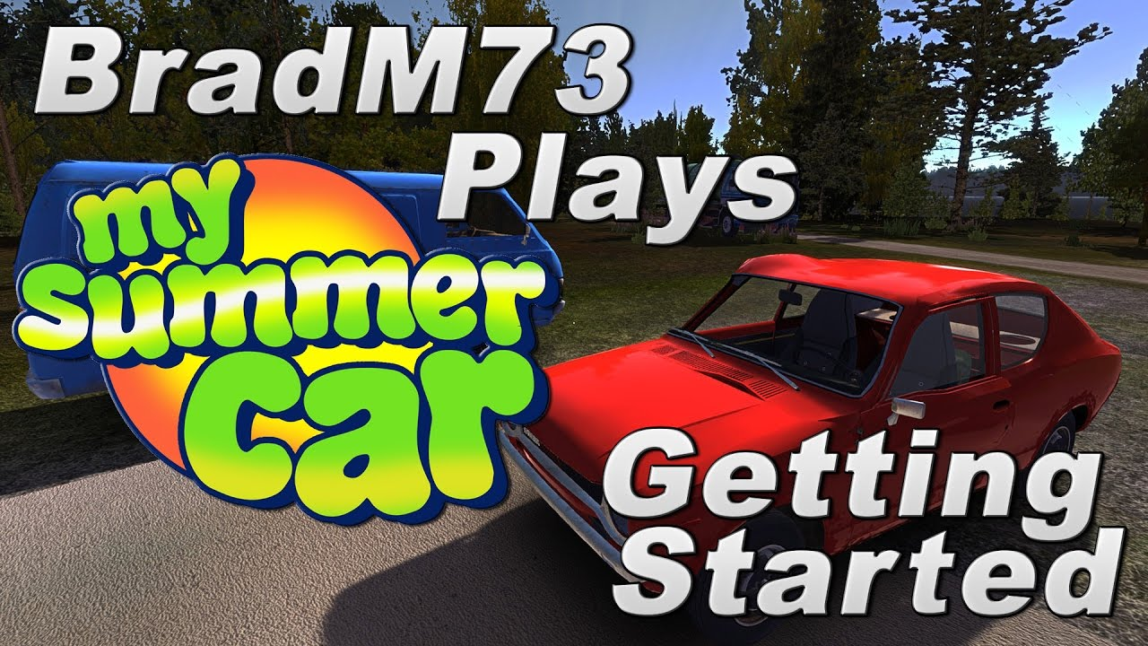 My Summer Car Episode 1 How To Get Started Engine Build Tutorial