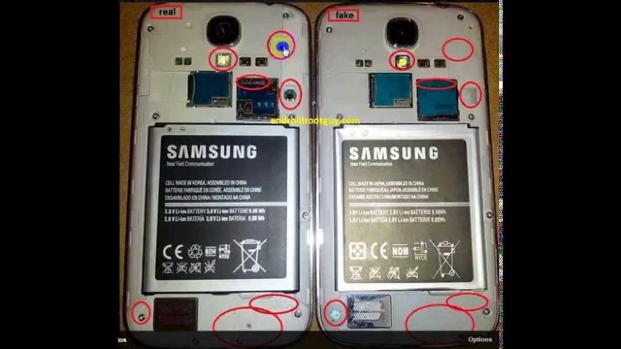 Samsung Mobile Original Or Fake Difference