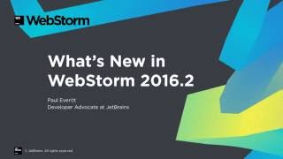 webstorm 2016 2 new features