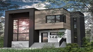 �������� ���� The Sims 4 - Real to Sims SERIES | Speed Build | Modern House Building ������
