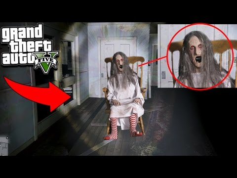 GTA 5 EVIL WITCH LAIR FOUND BEHIND SECRET DOOR! 😱 (Scary)