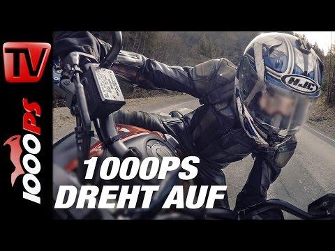 1000PS dreht auf - Yamaha MT-07 Öhlins No Music, No Comments