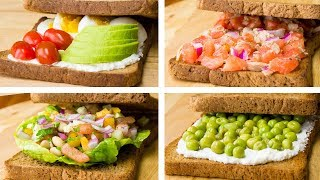 5 Healthy Sandwich Recipes For Weight Loss | Healthy Lunch Ideas