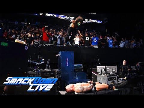 Jeff Hardy vs. Randy Orton: SmackDown LIVE, Aug. 21, 2018