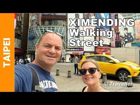 Things to do in Taipei - Don´t miss Ximending Walking & Shopping Street! - Taipei Travel video