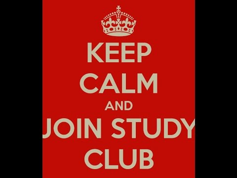 Why Study Clubs?