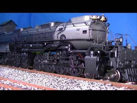 "Review: Athearn Genesis Union Pacific Big Boy 4014 ""Excursion Service"""