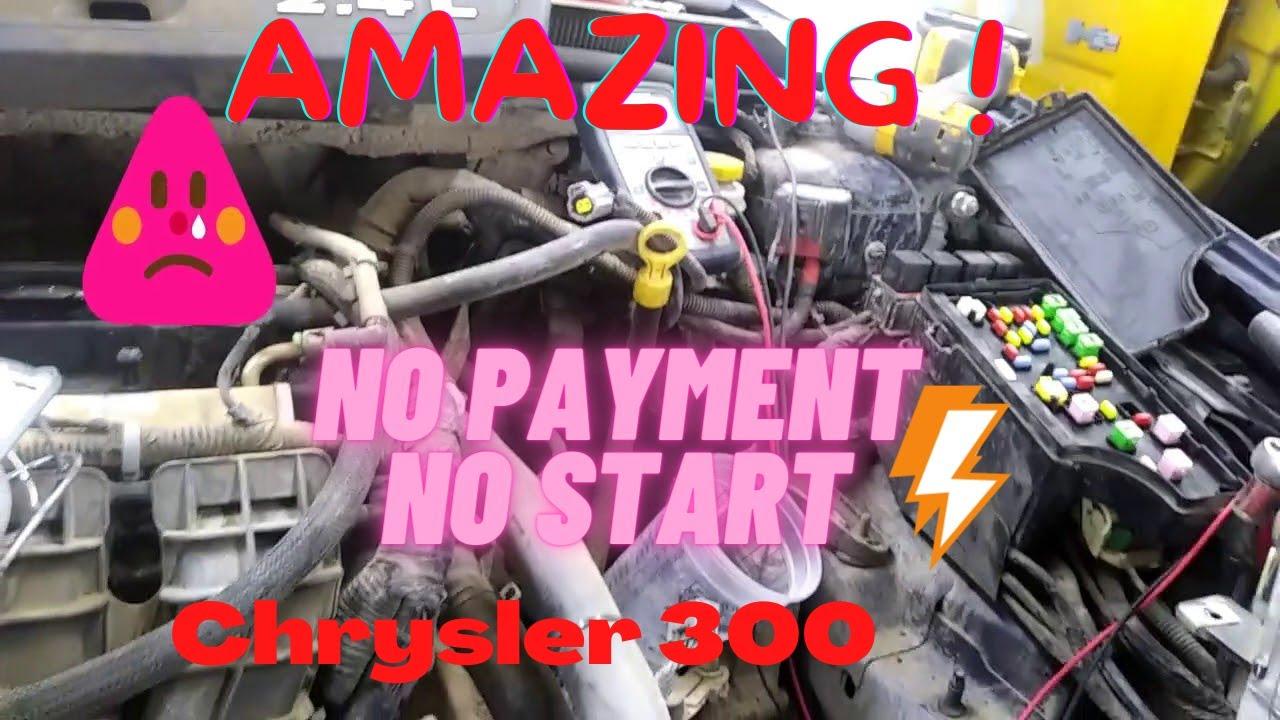 2014 chrysler 200 no crank no start
