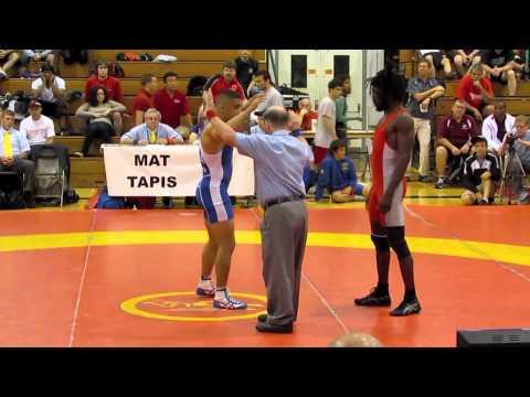 2011 Canada Cup: 60 kg Wrestleoff CJ Hudson vs. John Pineda
