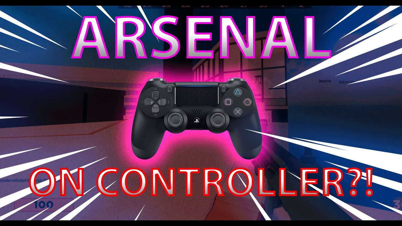 Playing Controller On Arsenal Pc Roblox Arsenal Casuals 1